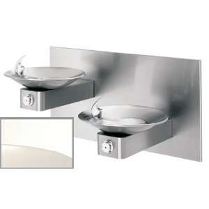 Hi Lo Barrier Free, Wall Mounted, Dual Stainless Steel Drinking