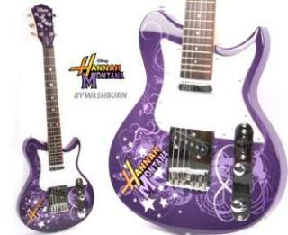 Up for bid is a new Hannah Montana Disney by Washburn electric guitar