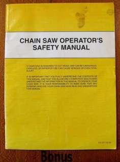 HUSQVARNA 45/49 Chain Saw Operators Manual + Bonus