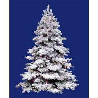 Christmas Tree   Multi Dura Lights  Vickerman Seasonal Christmas Trees