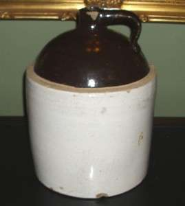 Vintage Salt Glazed Stoneware ~ 2 Gallon Dome/Ball Top Shoulder Jug