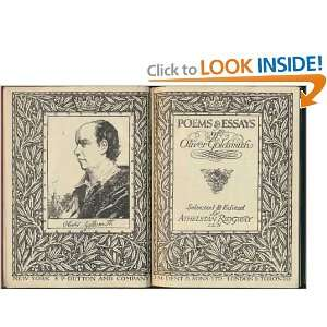 Poems & Essays: Oliver Goldsmith:  Books