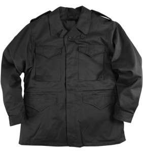 Alpha Industries M 43 Field Jacket   Black size Large