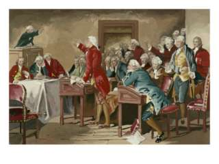 Patrick Henry Addressing the Virginia Assembly Giclee Print at