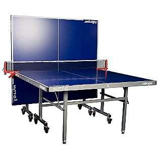 Table, Blue  Killerspin Fitness & Sports Game Room Table Tennis