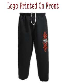 Tribal Style Design Spider Skull Gothic Sweatpants