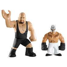 WWE Rumblers Action Figures 2 Pack   Big Show & Rey Mysterio   Mattel