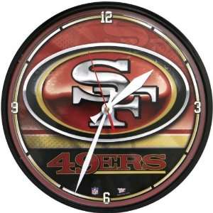 San Francisco 49ers   Logo Clock NFL Pro Football: Home