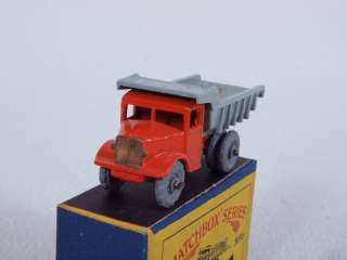 Lesney No. 6A Quarry Dump Truck 1954 Release w/ Original Box