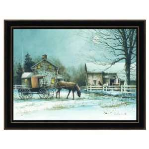 Simple Living , Framed Art /Textured, by The Craft Room, Model # JR104