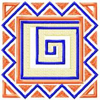 African Style Quilt Motifs/Blocks Machine Embroidery Designs