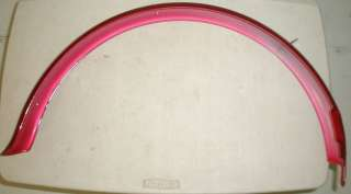 RED CRUISER STYLE FRONT FENDER BIKE PARTS 616