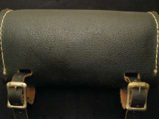 Vintage Bicycle Saddle Bag   Leather   60s or 70s   Very Cool On Old