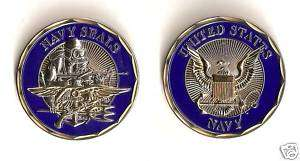 US Navy Seals Trident Challenge Coin