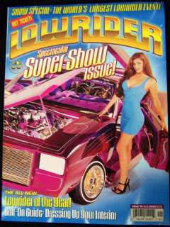 LOWRIDER MAGAZINE January 1998 98 SUPER SHOW ISSUE New Rare!!