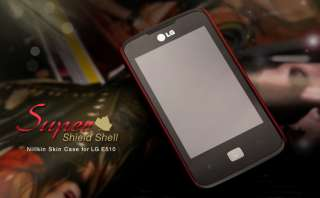 Brand New LG Optimus Hub E510 Hard Mobile Case with Screen Protector