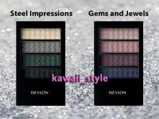 Revlon COLORSTAY Eyeshadow Steel Impression + Gem Jewel