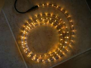 feet of 12V LED YELLOW AMBER Lighting Rope Lights   EXPEDITED SHIPPING