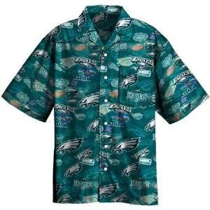 Philadelphia Eagles Big & Tall Tailgate Camp Shirt Sports