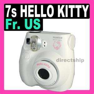 Instax Mini 7s Hello Kitty Film Toy Instant Camera Polaroid  White