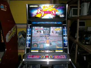 ICE Uniana Frenzy Express arcade game coin operated |