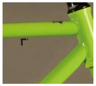 53cm Green Fixie Fixed Gear Bike / Single Speed Road Bike TRICK