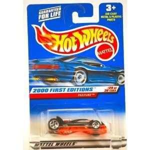 1999   Mattel / Hot Wheels   Vulture (Black w/ See Thru Bottom)   2000