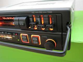 HARVARD CF 9100 RETRO CAR RADIO CASSETTE PLAYER PULLOUT TYPE