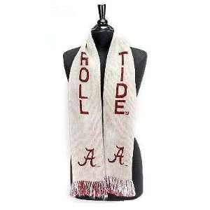Alabama Roll Tide Logo Scarf