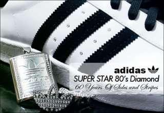 ADIDAS ORIGINALS SUPERSTARS 80s 60TH ANNIVERSARY DIAMOND PACK