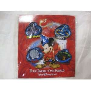 Collector Series Four Parks One World Emblems Set 2009 Toys & Games
