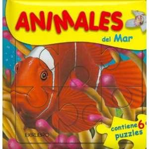 Animales del Mar   Contiene 6 Puzzles (Spanish Edition