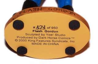 DARK HORSE COMICS FLASH GORDON STATUE FIGURE HERO NEW