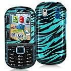 / Baby Blue Zebra Hard Case Cover for Samsung Intensity 2 II U460
