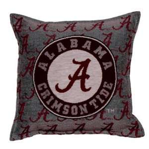 University of Alabama Crimson Tide Logo Decorative Throw