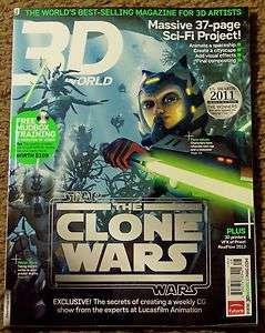 DVD November 2011 STAR WARS The CLONE WARS Mudbox 37 Page SCI FI PROJ