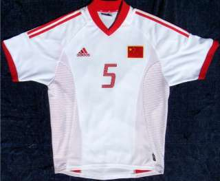 New CHINA Zh Y Fan #5 World Cup Soccer Jersey Shirt