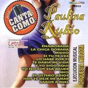 Canta Como: Paulino Rubino: Karaoke: Music