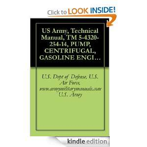 US Army, Technical Manual, TM 5 4320 254 14, PUMP, CENTRIFUGAL
