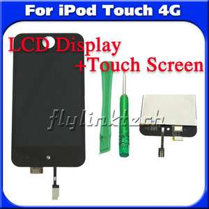 ia24t LCD Display DIGITIZER Touch screen glass replace for iPod 4 Gen