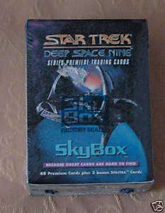Star Trek 1993 Skybox Trading Card Set  SEALED
