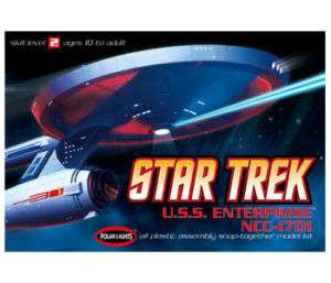POLAR LIGHTS STAR TREK USS ENTERPRISE 1701 TV VERSION
