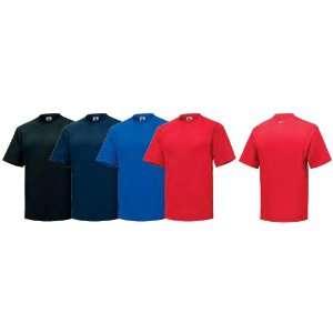 Nike 264586 Colored Short Sleeve Camp Tee Shirt Black Size