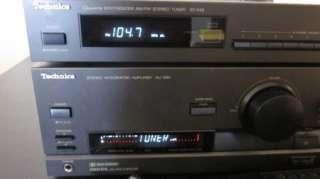 Technics SU G90 Stereo Integrated Amplifier & ST K50 Quartz AM FM