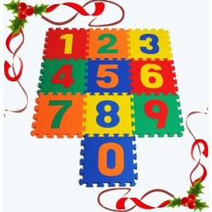Educational Counting Numbers Foam Mats for Children 12 X