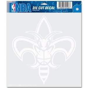 NBA New Orleans Hornets 8 X 8 Die Cut Decal: Sports