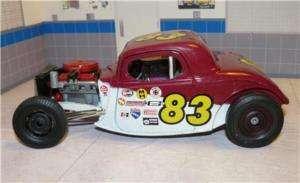 18 scale custom made 34 Ford race car #83