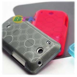 1x Soft Flex Resin Gel Case HTC Hero T Mobile G2 Touch