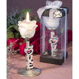 Love Letters Collection Love and Roses Candles