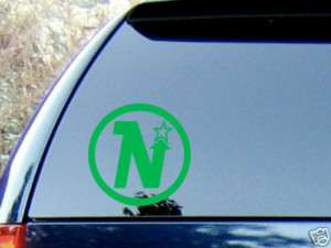 MINNESOTA NORTH STARS VINYL WINDOW DECAL STICKER CAR HQ